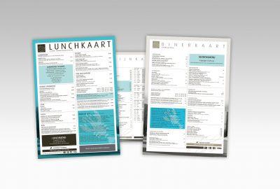 Het Badpaviljoen Domburg Lunchkaart en Menukaart