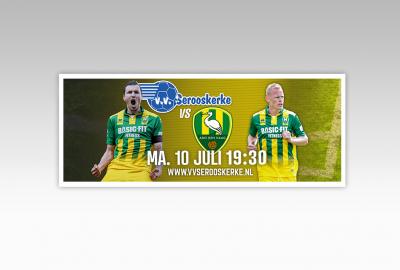 VV Serooskerke vs ADO Den Haag