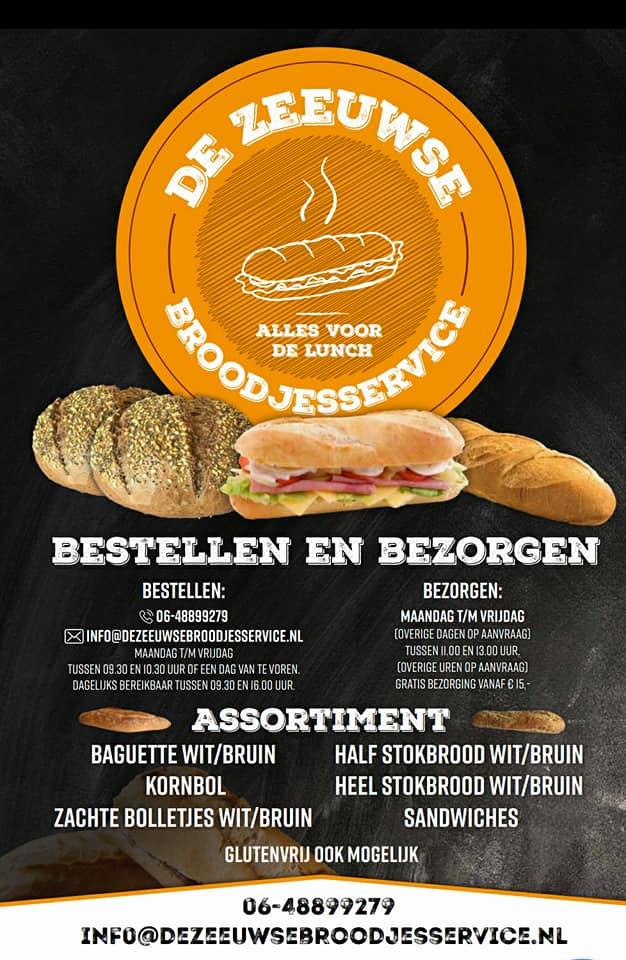 Poster de Zeeuwse Broodjesservice