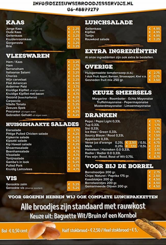 De Zeeuwse Broodjesservices Middelburg Serooskerke