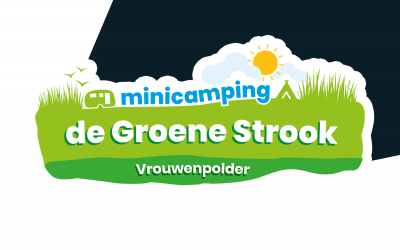Nieuw logo voor Minicamping de Groene Strook