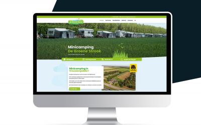 Nieuwe website Minicamping de Groene Strook!