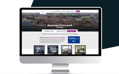 Nieuwe website Woonhotel Petruskerk