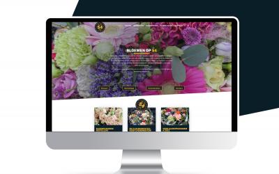 Nieuwe website Bloemen op 54!
