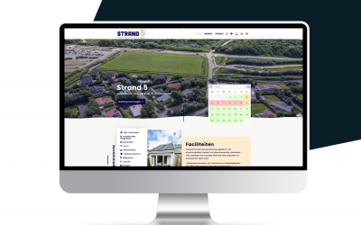 Nieuwe website Strand 5 Zoutelande
