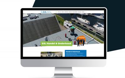 Nieuwe website DJL Handel & Onderhoud!