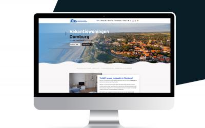 Nieuwe website Vakantiewoningen Domburg